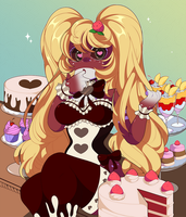 COM: Dessert Akiyie by QueenAshi