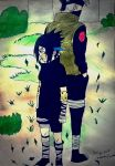 Naruto - Sasuke Uchiha and Kakashi(Drawings by AS) by AsDrawings