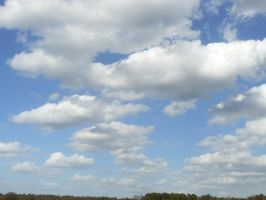 stock blue sky with clouds 01 2013-04 by Nexu4