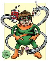 Official Handbook Marvel Doctor Octopus Redux by brodiehbrockie