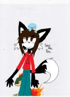 Soul the Fox COLORED by ChaosPower11