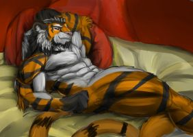 Red relax by Marsel-Defender