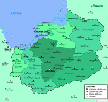 Republic of East Prussia by altmaps