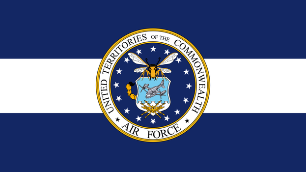 FALLOUT: Flag of the UTC Air Force (clean) by okiir