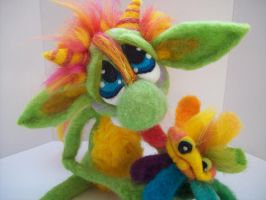 Flower Goblin by Tanglewood-Thicket