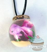 Fish Bowl necklace v2 by ilikeshiniesfakery