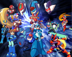 Megaman The Blue Bombers by Vinix-tkc