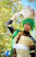 Magic Knight Rayearth: The Green Swordman by in-ciel