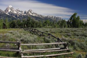 Grand Tetons NP Wyoming by Ineoin