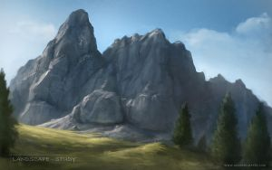 Mountain Enviroment by Andimayer
