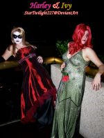 Harley and Ivy: Vouge by Damek0Masca
