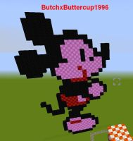 Minecraft starring Mickey Mouse! by ButchxButtercup1996
