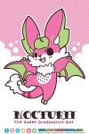 TPS: Nocturii the Dragonfruit Bat by MoogleGurl