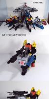 Wreckers Battle Stations by Unicron9