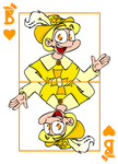 FedorComix card game: jack of hearts by FedorComix