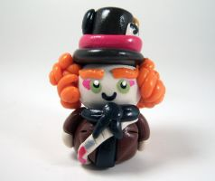 Mad Hatter Pendant by sweet-geek
