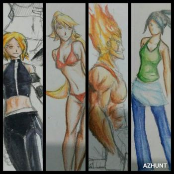 Playing with color pencils part ??? by Azhunt