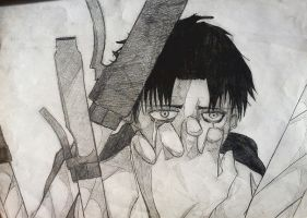 Rivaille H. AOT by damienyukii
