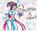 Orube and We by Obseddiean