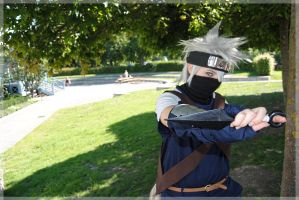 one young Hatake Kakashi by Naricie