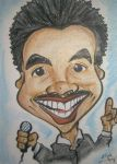 caricature of gedeon mckinney by thecrow1299