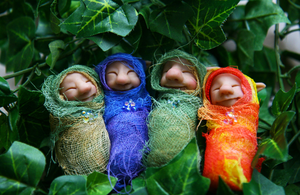 New Cocoon babies available on Etsy by ShirleysStudio