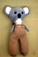 Theodore the Koala Bear by quirkandbramble