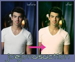 Joe Jonas Action by Retroliciouss