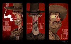 The Good The Bad and the Ugly by JeffVictor
