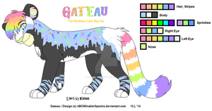 Gateau - Birthday Cake Big Cat by ABOMinableSpectra