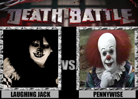 Death Battle: Laughing Jack Vs Pennywise by MrAngryDog