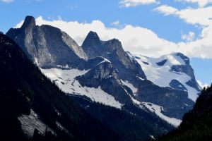 frigg towers and mt odin by BCMountainClimber