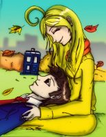 PA: Ten and the author by Danielle-chan