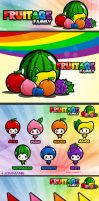 Fruitage family by JOMMANS
