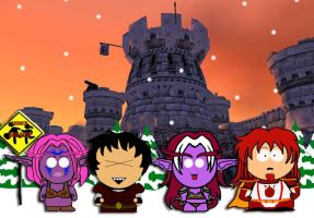 Warcraft meets South Park by supinternets
