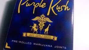 Purple Kush Dispensary Box by Hempco