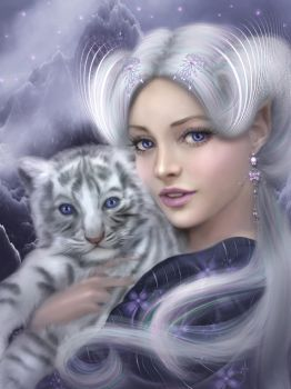 Legend of the White Tiger by mari-na
