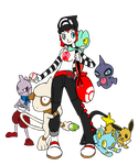 New Trainer and Team by Kamajii-the-mog