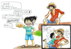 one piece,- by heivais
