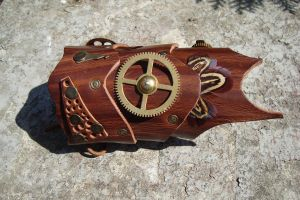 Steampunk Handcuff 'Ranger' by rain2shine