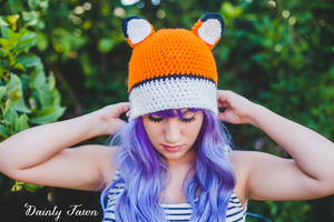Fox Hat-  Dainty Fawn by candypow
