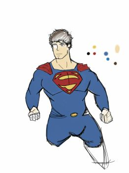 Superman by SnipertrooperX