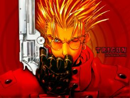 trigun by osirisgodofdeath