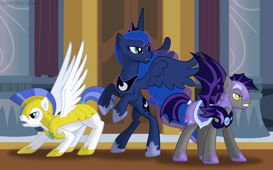 Stand Your Ground! by Glaive-Silver