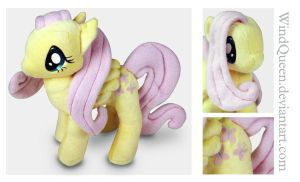 Fluttershy plush by WindQueen