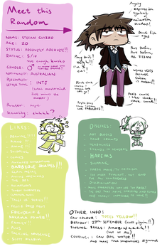 Meet the Artist Meme thingy of things yo! by SG27889