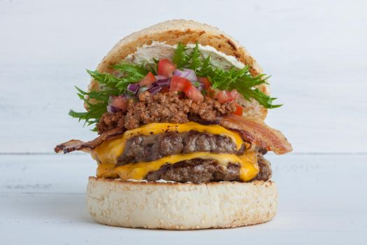 Mexican Burger by reverton