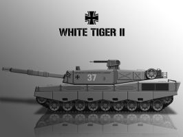 White Tiger II by KevinTinierme