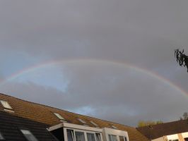 12-09-18 Double Rainbow 1 by Herdervriend
