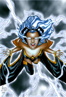 Storm coloring by DavidFCG